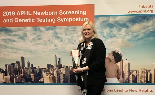 Krystal Baumert Award Nebraska Newborn Screening