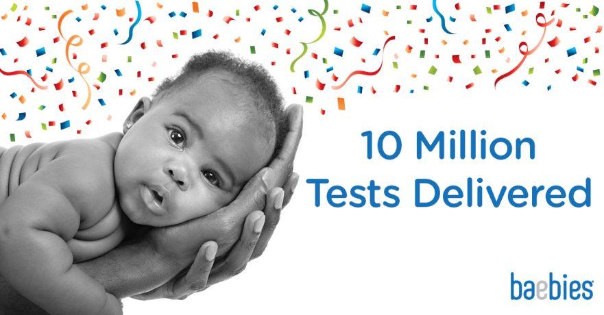 Baebies 10 Million Tests