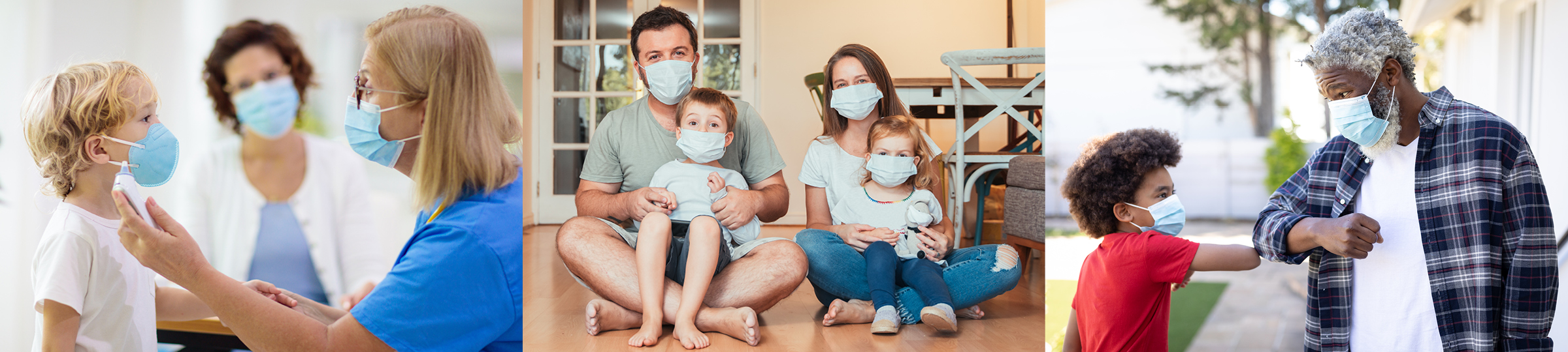 Families in Masks COVID-19 RT-PCR Testing